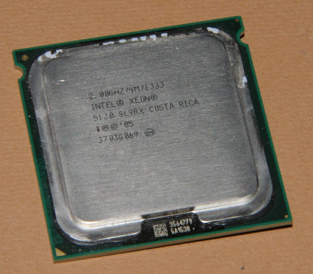 Intel  cpu Xeon 5130 SLAGC 2.0ghz 4mb 1333mhz