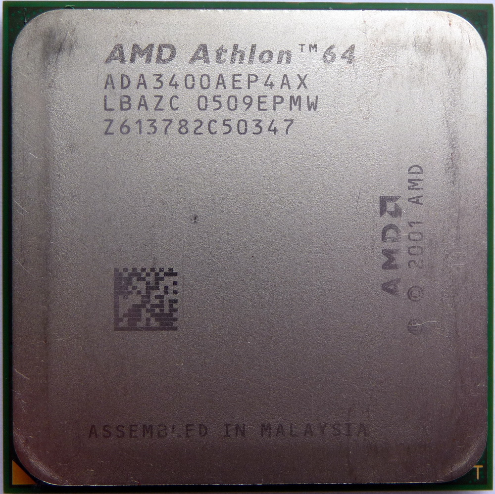 X86 Cpus Guide View Details On Amd Athlon 64 3400 Newcastle Socket 754
