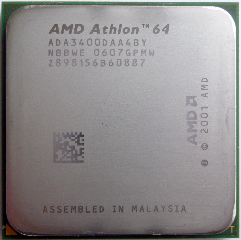 X86 Cpus Guide View Details On Amd Athlon 64 3400 Venice Socket 939