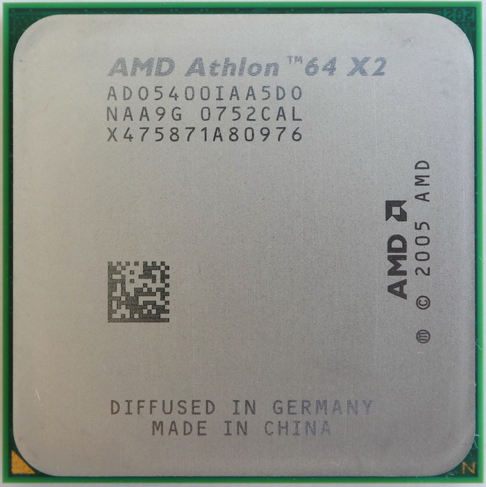 AMD Athlon 64 X2 5400+ EE socket AM2 (Brisbane) ADO5400IAA5DO 01.jpg