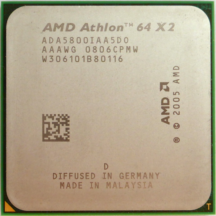 AMD Athlon 64 X2 5800+ socket AM2 (Brisbane) ADA5800IAA5DO 01.jpg
