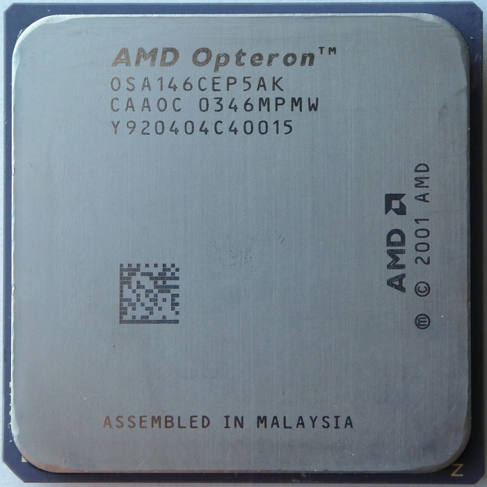 X86 Cpus Guide View Details On Amd Opteron 146 Socket 940