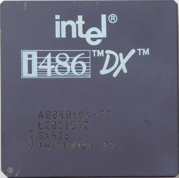 Intel A80486DX-33 SX416 (Fake i860 Sspec) 01.jpg