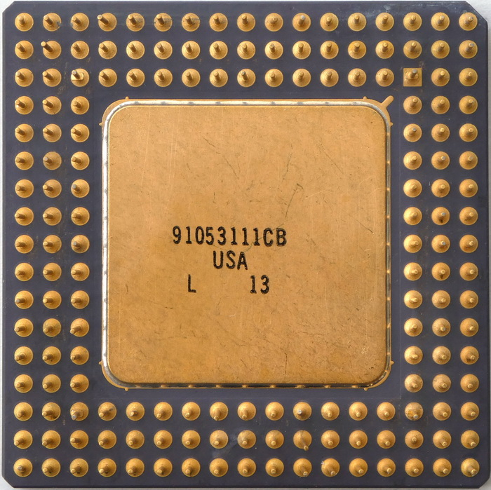 Intel A80486DX-33 SX416 (Fake i860 Sspec) 02.jpg