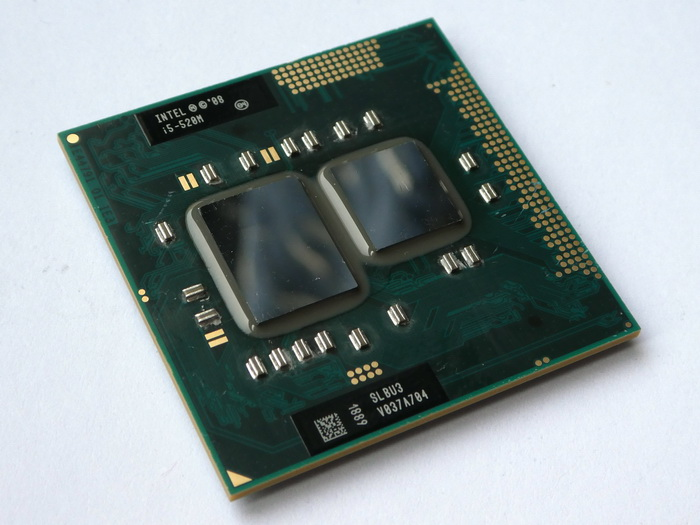 Intel Core i5-520M 2.40GHz 3M 2.5GT Socket G1 Slbnb OEM