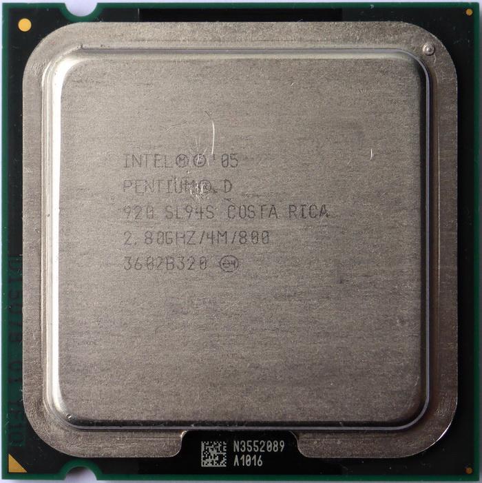 Intel Pentium D 920 28GHz SL94S 01