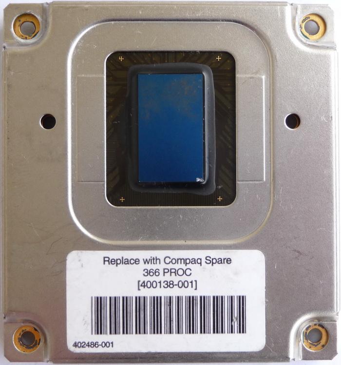 Intel Pentium II Mobile 366MHz Mini-Cartridge Processor SL36Z