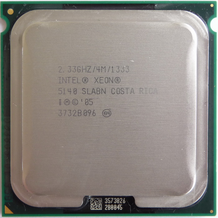 Xhoba's cpu collection - View details on Intel Xeon 5140