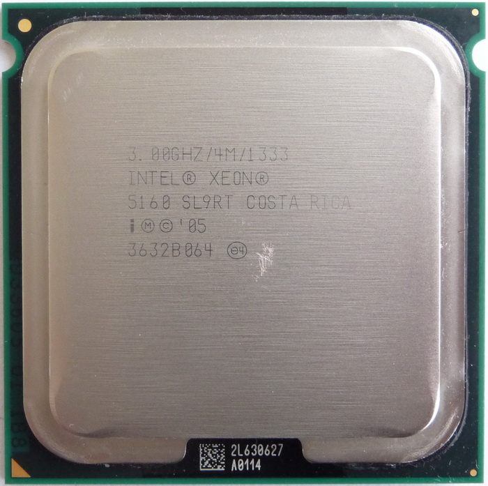 3.00 GHZ SL9RT Hewlett-Packard HP DL380R05 DUAL-CORE INTEL XEON 5160 PROCESSORS