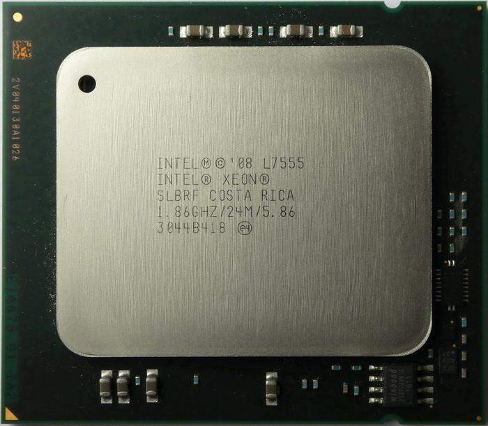 INTEL SLBRF INTEL XEON 8 CORE PROCESSOR L7555 1.86GHZ 24MB L3 CACHE 5.86GT//S